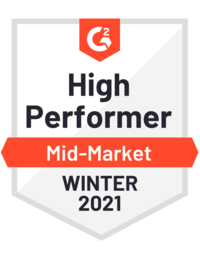 G2 High Performer Mid Market